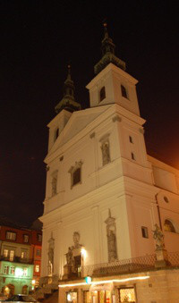 Brno, kostel sv. Michala