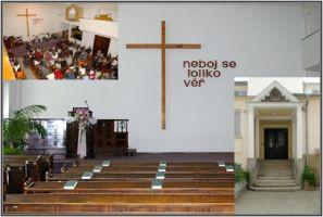 Brno, modlitebna Sboru Církve bratrské, Kounicova