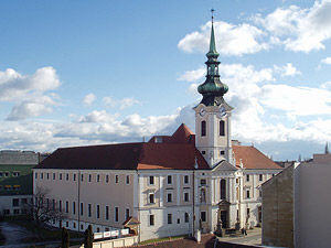 Brno, klášterní kostel sv. Leopolda a Václava