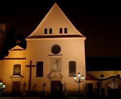 Brno, kapucínský kostel Nalezení sv. Kříže