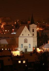 Třebíč-Jejkov, kostel Proměnění Páně