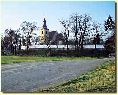 Plzeň-Doubravka, kostel sv. Jiří
