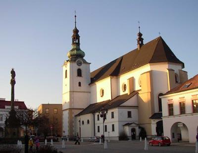 Svitavy, kostel Navštívení Panny Marie