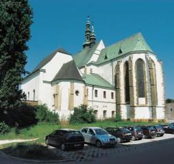 Prostějov, kostel Povýšení svatého Kříže
