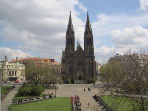 Praha 2 - Vinohrady, kostel sv. Ludmily