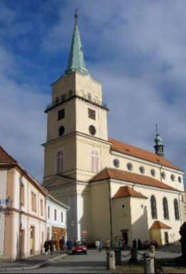 Rokycany, kostel Panny Marie Sněžné
