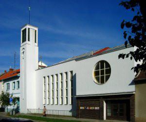 Brno-Židenice, kostel Českobratrské církve evangelické