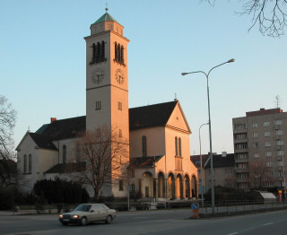 Brno-Židenice, kostel sv. Cyrila a Metoděje