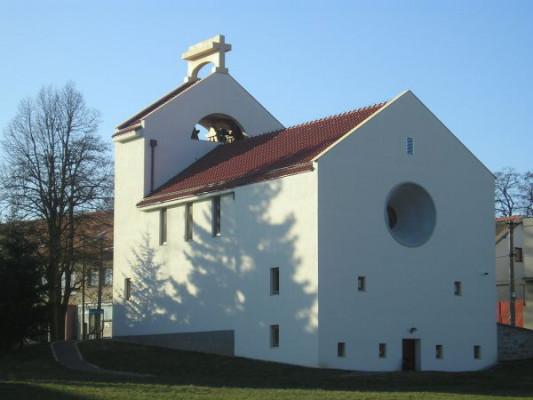 Šumná, kostel sv. Ducha