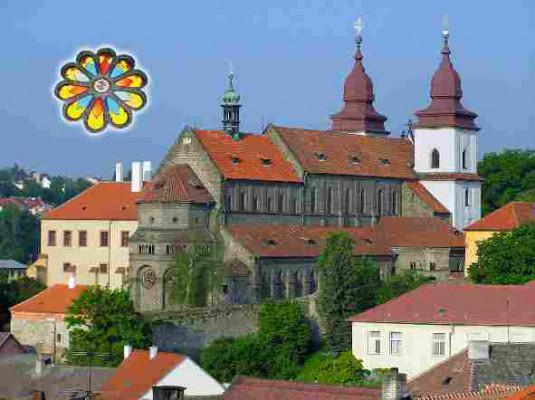 Třebíč-zámek, bazilika sv. Prokopa a Panny Marie