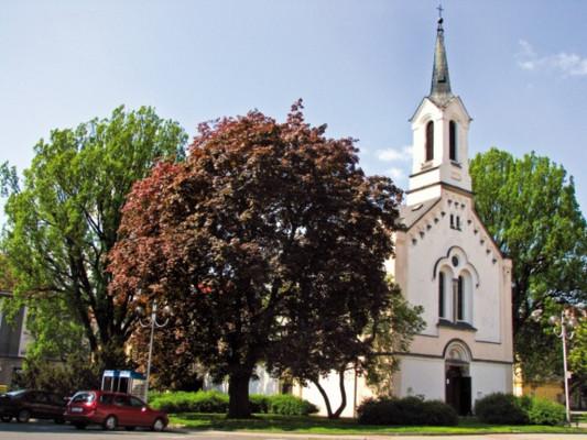 Děčín-Podmokly, kostel Sv. Františka z Assisi
