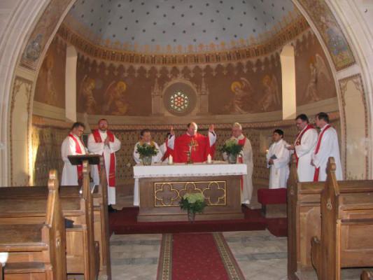 Soběšín-Otryby, kostel sv. Havla