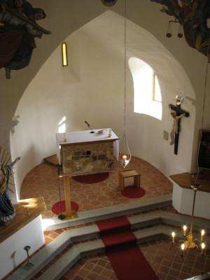 Soběšín, kostel sv. Michaela Archanděla