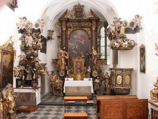 Náměšť nad Oslavou, kaple sv. Václava