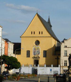 Olomouc, kostel Zvěstování Páně-kapucínský