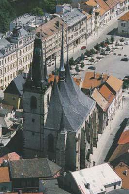 Louny, kostel sv. Mikuláše