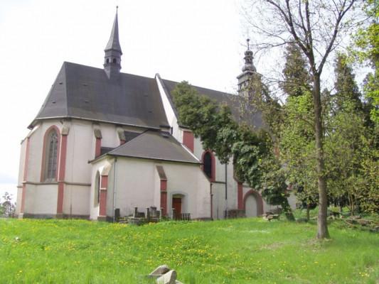 Plzeň-Roudná, kostel Všech Svatých