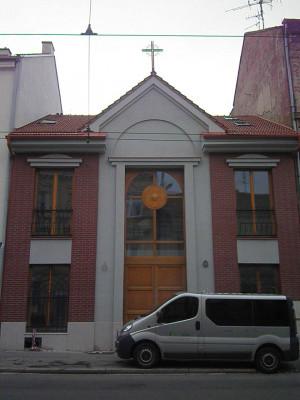 Brno-Husovice, pravoslavná kaple Uvedení Bohorodice do chrámu