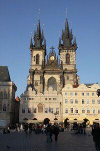 Praha 1 - Staré Město, chrám Matky Boží před Týnem
