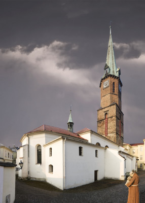 Frýdek-Místek, kostel sv. Jana Křtitele ve Frýdku