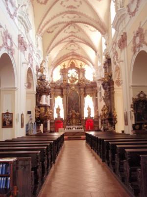 Litoměřice, kostel Všech svatých