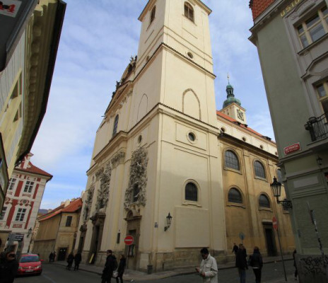 Praha 1 - Staré Město, bazilika sv. Jakuba Staršího