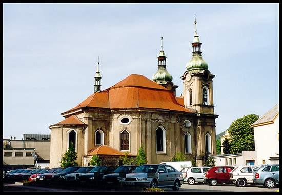 Děčín-Rozbělesy, kostel sv. Václava