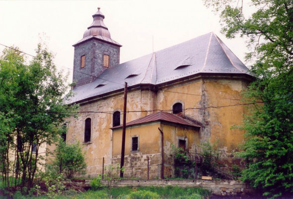 Děčín-Bělá, kostel sv. Františka Xaverského