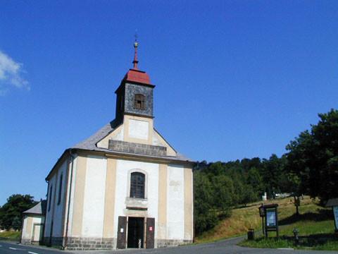 Tisá, kostel sv. Anny