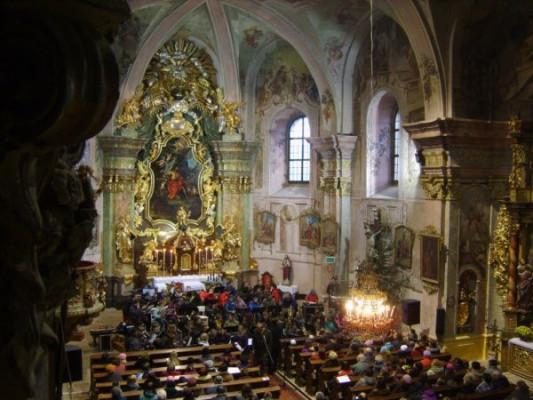 Tatenice, kostel sv. Jana Křtitele