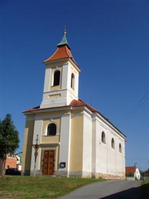 Chotíkov, kostel Povýšení sv. Kříže