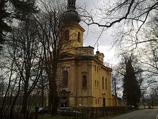 Osov, kostel Narození sv. Jana Křtitele