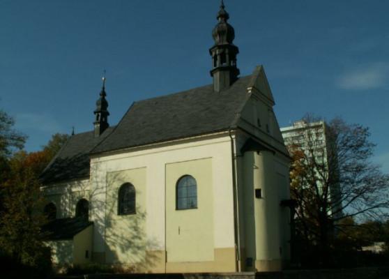 Frýdek-Místek, kostel Všech svatých v Místku