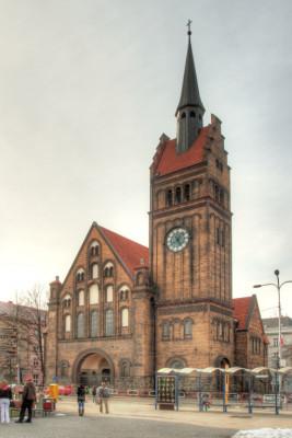 Ostrava-Moravská Ostrava, evangelický Kristův kostel