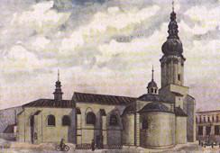 Ostrava-Moravská Ostrava, kostel sv. Václava