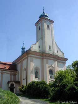 Ostrava-Stará Bělá, kostel sv. Jana Nepomuckého a sv. Mikuláše