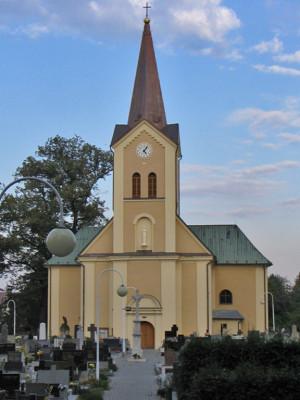 Ostrava-Třebovice, kostel Nanebevzetí Panny Marie