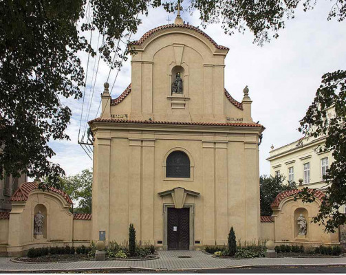 Čáslav, kostel sv. Alžběty