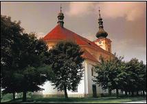 Město Touškov, kostel Narození sv. Jana Křtitele