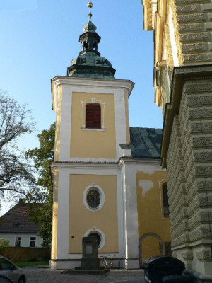 Přelouč, kostel sv. Jakuba Většího