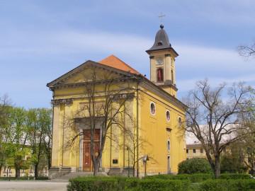 Jaroměř-Josefov, kostel Nanebevstoupení Páně