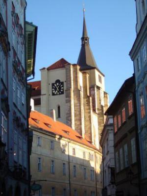 Praha 1 - Staré Město, kostel sv. Jiljí