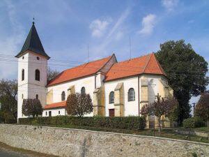 Vémyslice, kostel Narození Panny Marie