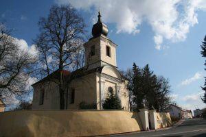 Praha 8 - Bohnice, kostel sv. Petra a Pavla