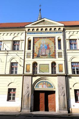 České Budějovice, kostel P. Marie Růžencové