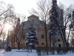 Liběšice, kostel sv. Martina a Navštívení Panny Marie