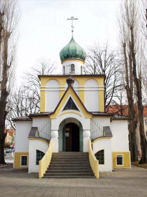 Kroměříž, pravoslavný chrám sv. Cyrila a Metoděje