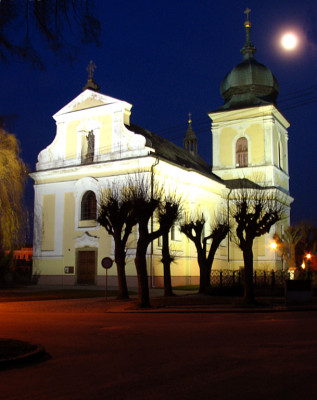 Holice, kostel sv. Martina