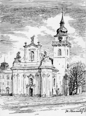 Heřmanův Městec, kostel sv. Bartoloměje