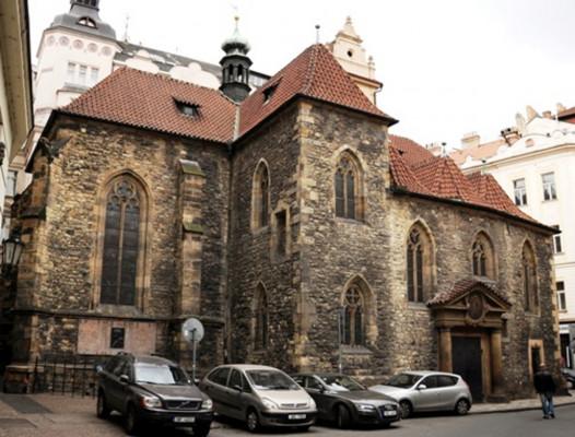Praha 1 - Staré Město, kostel sv. Martina ve zdi